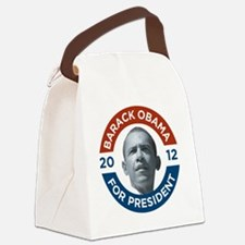 Barack Obama For President 2012 Canvas Lunch Bag