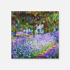 "Monet Square Sticker 3"" x 3"""