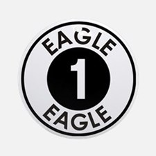 Space: 1999 - Eagle 1 Logo Round Ornament
