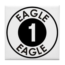 Space: 1999 - Eagle 1 Logo Tile Coaster