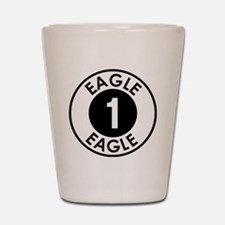 Space: 1999 - Eagle 1 Logo Shot Glass
