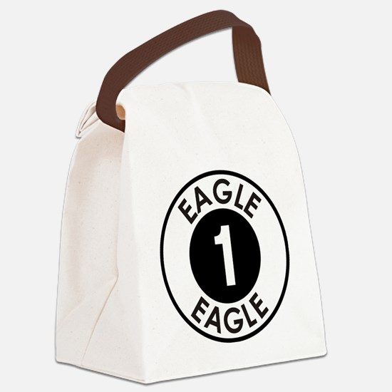 Space: 1999 - Eagle 1 Logo Canvas Lunch Bag