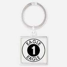 Space: 1999 - Eagle 1 Logo Square Keychain