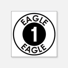 "Space: 1999 - Eagle 1 Logo Square Sticker 3"" x 3"""