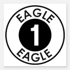 "Space: 1999 - Eagle 1 Lo Square Car Magnet 3"" x 3"""