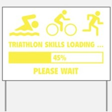 LoadingTriathlon1F Yard Sign