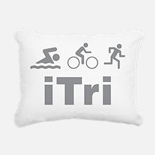 triaITri1C Rectangular Canvas Pillow