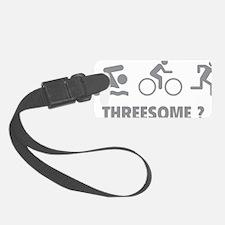 triaThreesome1C Luggage Tag