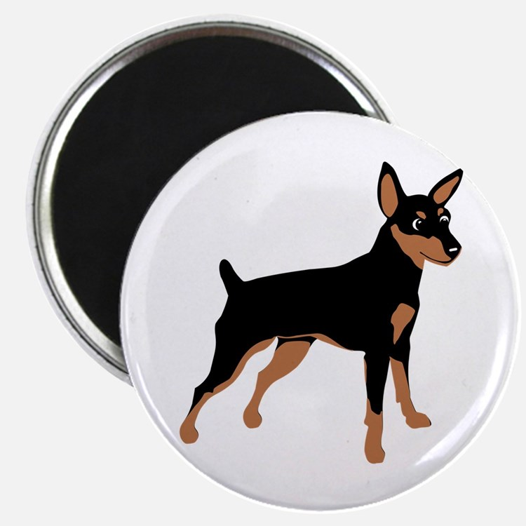 Cartoon Miniature Pinscher 1 Magnet