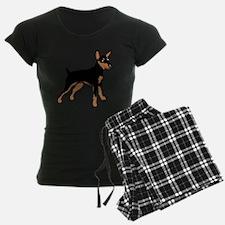Cartoon Miniature Pinscher 1 Pajamas