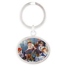 Pillow Renoir Oval Keychain