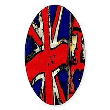 Vintage Chick Union Jack Decal