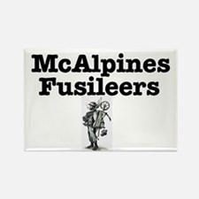 McALPINES FUSILIERS Rectangle Magnet