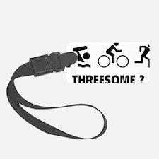 triaThreesome1A Luggage Tag