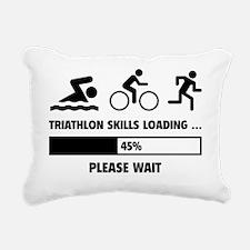 LoadingTriathlon1A Rectangular Canvas Pillow