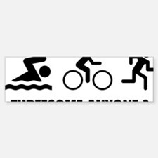 triaThreesome2A Sticker (Bumper)