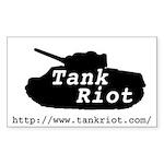 M4 Sherman Rectangle Sticker