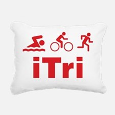 triaITri1D Rectangular Canvas Pillow