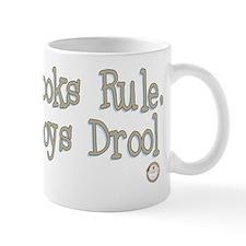 Books Rule, Boys Drool Mug