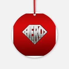 Hero Ornament (Round)