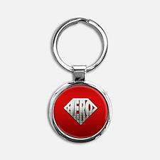 Hero Round Keychain