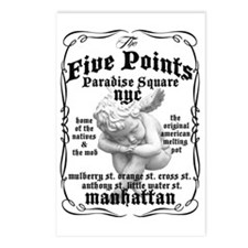 Five Points Tee Postcards (Package of 8)