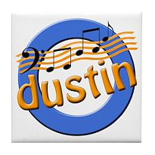 Dustin Notes Tile Coaster