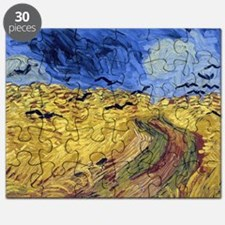 Wheatfield with Crows Puzzle