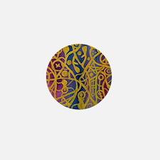 Goddess Spiderweb Painting Mini Button