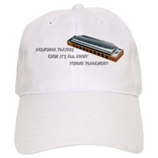 Harmonica Players Baseball Cap