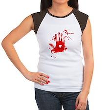 jeff the killer white Women's Cap Sleeve T-Shirt