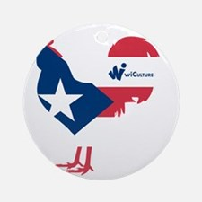 El Gallo Round Ornament