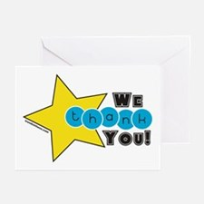 COORDINATING TWIN THANK YOU Cards (Pk of 10)