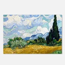 Wheat Field with Cypresse Postcards (Package of 8)