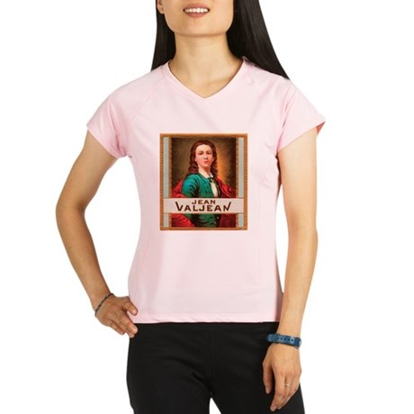 Jean Valjean Tobacco Label Performance Dry T-Shirt