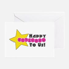 TWIN/MULTIPLE GIRLS B-DAY INVITATION(Pk of 10)