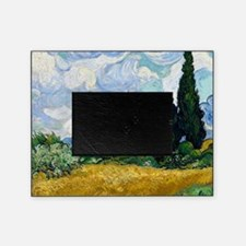 Wheat Field with Cypresses Picture Frame