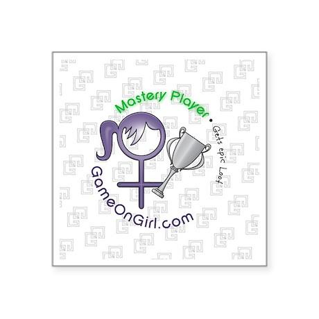 """Lapel sticker Mastery Square Sticker 3"""" x 3"""""""