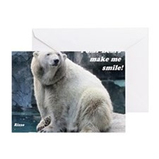 Rizzo makes me smile Greeting Card