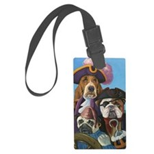 pirate-dogs Luggage Tag