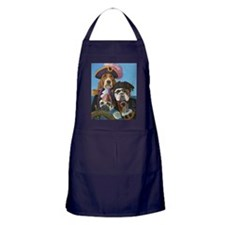 pirate-dogs Apron (dark)