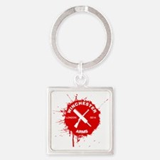 Winchester Arms Shaun Of The Dead Square Keychain