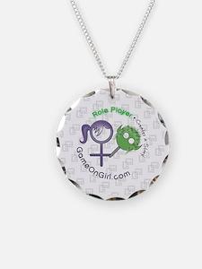 Lapel sticker Role Necklace