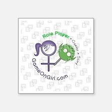 """Lapel sticker Role Square Sticker 3"""" x 3"""""""
