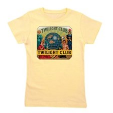 Twilight Club Cigar Label Girl's Tee