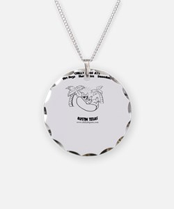 Chilly Dogs ATX Logo  Necklace