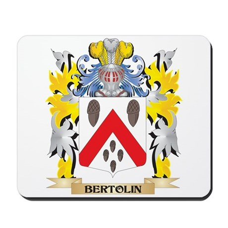 Bertolin Coat of Arms - Family Crest Mousepad