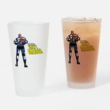 Major Matt Mason Drinking Glass