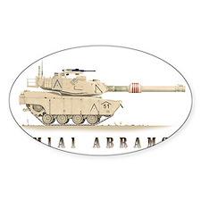 M1A1 Abrams Tank Decal