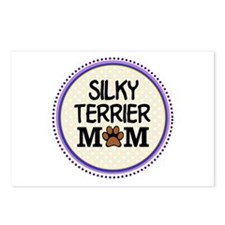 Silky Terrier Dog Mom Postcards (Package of 8)